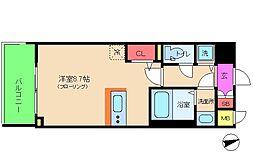 アドバンス西梅田II[9階]の間取り