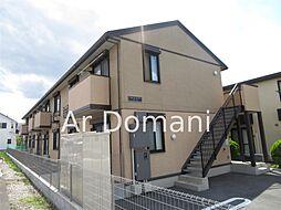 千葉県松戸市和名ケ谷の賃貸アパートの外観