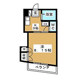 ファーストハイツ二軒茶屋[4階]の間取り