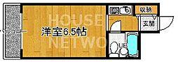 ライオンズマンション京都烏丸[103号室号室]の間取り