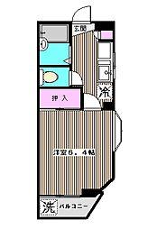 第2サンコート[4階]の間取り