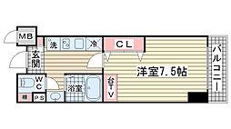 M・PARK・WEST[301号室]の間取り
