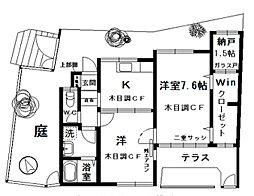 [一戸建] 神奈川県横浜市中区本牧満坂 の賃貸【/】の間取り