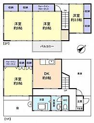 [一戸建] 千葉県八千代市八千代台東2丁目 の賃貸【/】の間取り