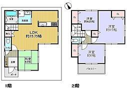 JR桜島線(ゆめ咲線) 安治川口駅 徒歩5分 4LDKの間取り