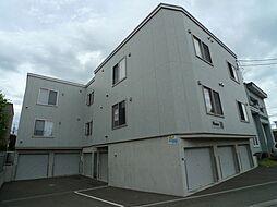 北海道札幌市西区八軒二条東5丁目の賃貸アパートの外観