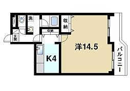 三和平城グランドパレス[2階]の間取り