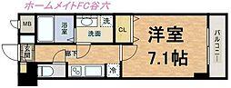 S-RESIDENCE Hommachi Marks[6階]の間取り