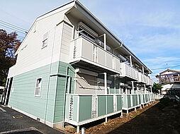 埼玉県八潮市八潮1の賃貸アパートの外観