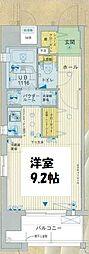 クレアート新大阪パンループ[12階]の間取り