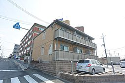 大阪府枚方市宮之阪4丁目の賃貸アパートの外観