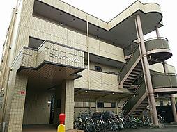 神奈川県川崎市中原区下新城3丁目の賃貸マンションの外観