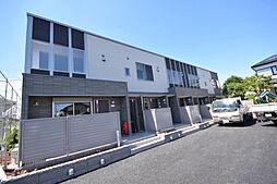 栃木県宇都宮市双葉3の賃貸アパートの外観