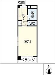 I・S court[3階]の間取り