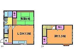 [テラスハウス] 東京都調布市富士見町3丁目 の賃貸【/】の間取り