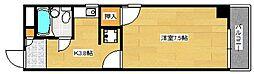 広島県広島市南区東雲1丁目の賃貸マンションの間取り