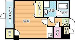 ピアーノKM21[201号室]の間取り