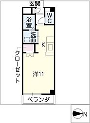 セントレアコートII[2階]の間取り