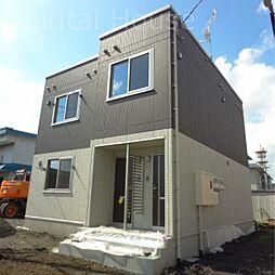 北海道江別市一番町の賃貸アパートの外観