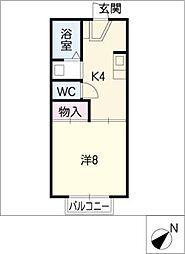コートビレッジ小木田[2階]の間取り