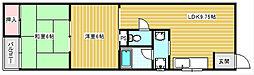 みのりマンション[3階]の間取り