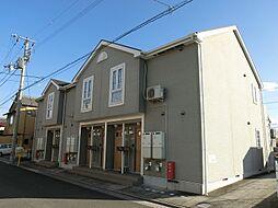 香川県三豊市詫間町松崎の賃貸アパートの外観
