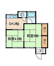 [一戸建] 神奈川県相模原市南区栄町 の賃貸【神奈川県 / 相模原市南区】の間取り