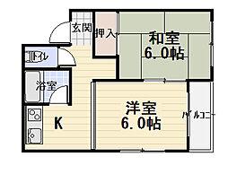メゾンM&M[2階]の間取り
