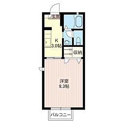 アーバン・コート[2階]の間取り