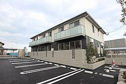 福岡県福津市日蒔野4丁目の賃貸アパートの外観