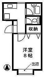 メディカルハイツ[1階]の間取り
