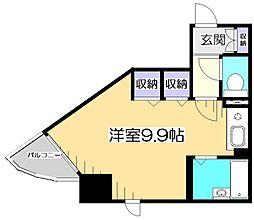 HF国分寺レジデンス[8階]の間取り