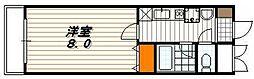 珠光ビル四条大宮[5階]の間取り