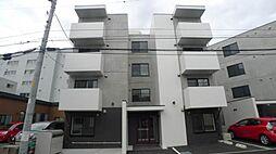 北海道札幌市豊平区豊平八条9の賃貸マンションの外観