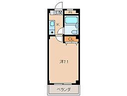 栄マンション2号館[3階]の間取り