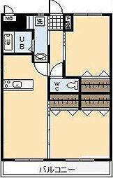 (新築)神宮外苑 西棟[205号室]の間取り