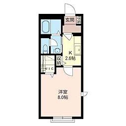 マストライフ百合ヶ丘II−C棟[1階]の間取り