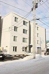 北海道札幌市中央区北十条西23丁目の賃貸マンションの外観