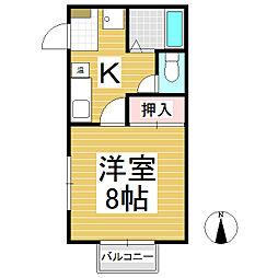AIハイツ[3階]の間取り