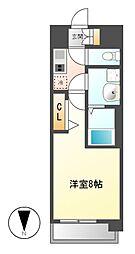 プレサンス丸の内レジデンス[11階]の間取り