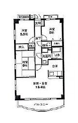 MKマンション第五[3階]の間取り