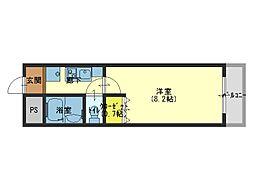 メゾンルヴェソレイユ[5階]の間取り