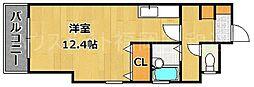 プラザTOWA 六本松駅[2階]の間取り