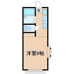 クリヤーハウス鵠沼[2階]の間取り