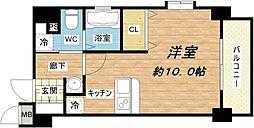 ディナスティ堺筋本町[11階]の間取り