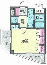 CHOCORUTE[2階]の間取り
