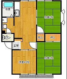 レイクサイド三井[103号室号室]の外観