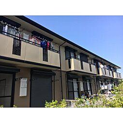 奈良県磯城郡田原本町小室の賃貸アパートの外観