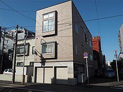 北海道札幌市中央区南六条西12丁目の賃貸アパートの外観