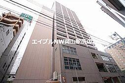 岡山県岡山市北区本町の賃貸マンションの外観